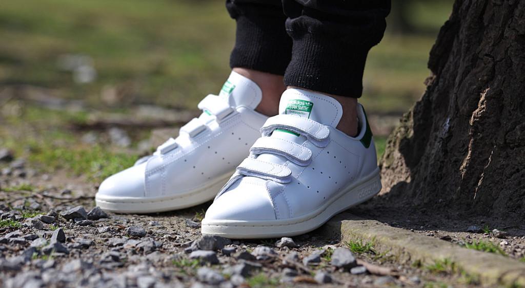 adidas stan smith weiß klettverschluss