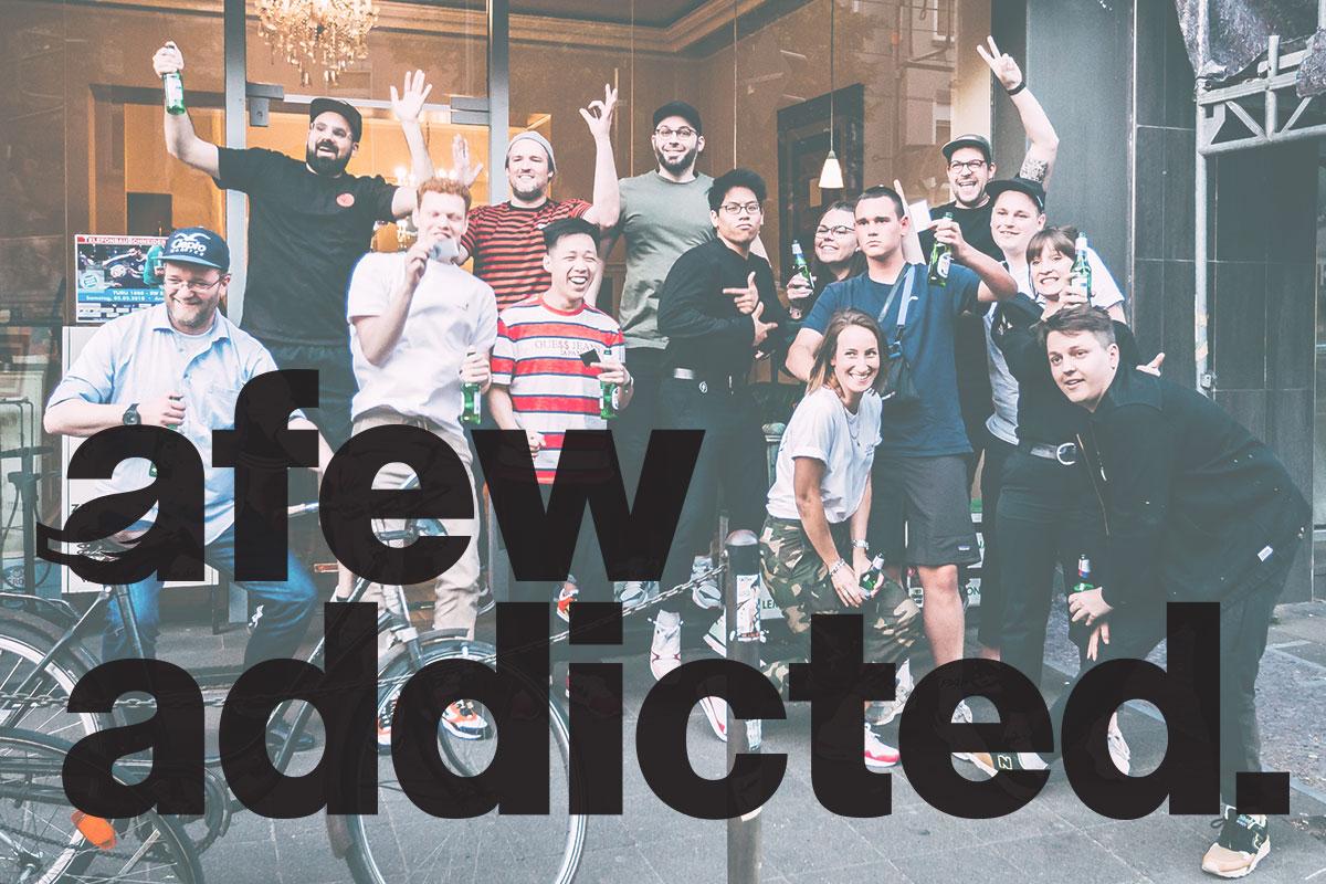 afewaddicted Stammtisch Vol2 sneaker streetwear caffe enuma