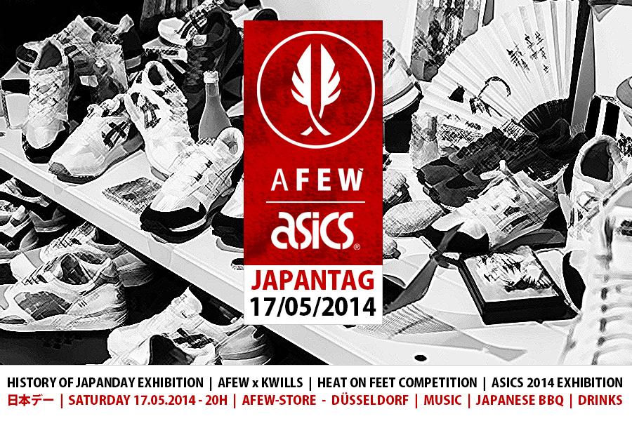 Afew x Asics Japantag 2014