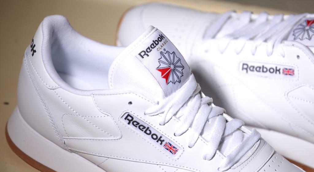 Reebok Classic Leather White Gum