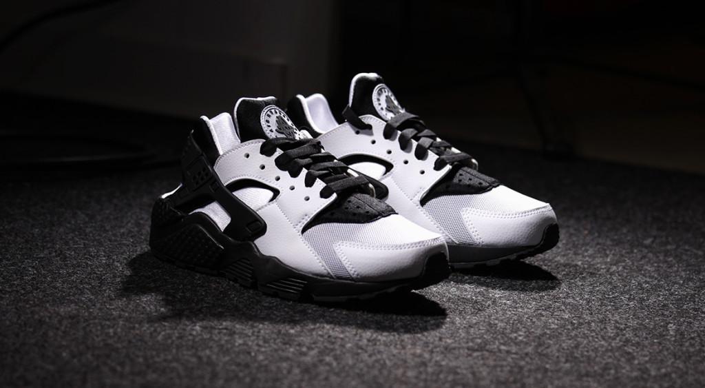 Nike Huarache Weiß Schwarz