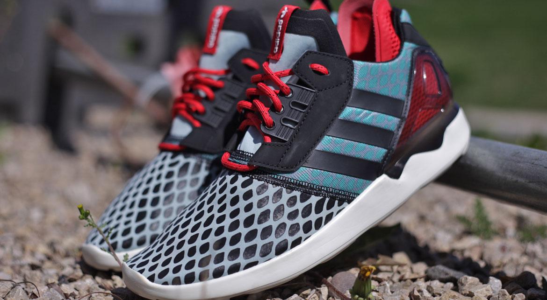 Adidas ZX 8000 Boost Slate Mist Slate F15stCoreBlackTomatoF15St