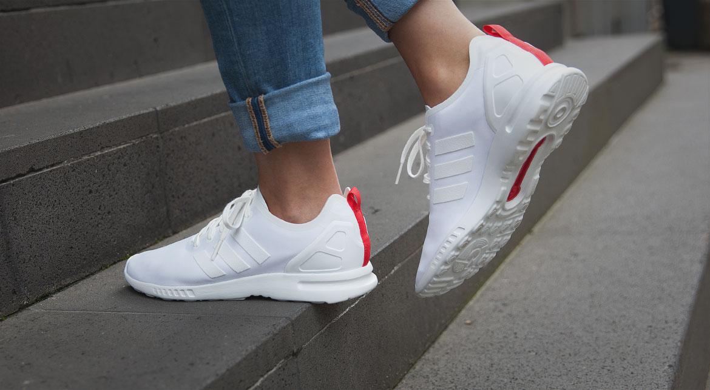 Adidas Zx Flux Adv Damen Weiß