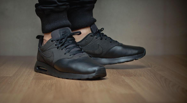 745ae489d469b0 Nike Air Max Tavas Schwarz Leder aktion-cash.de
