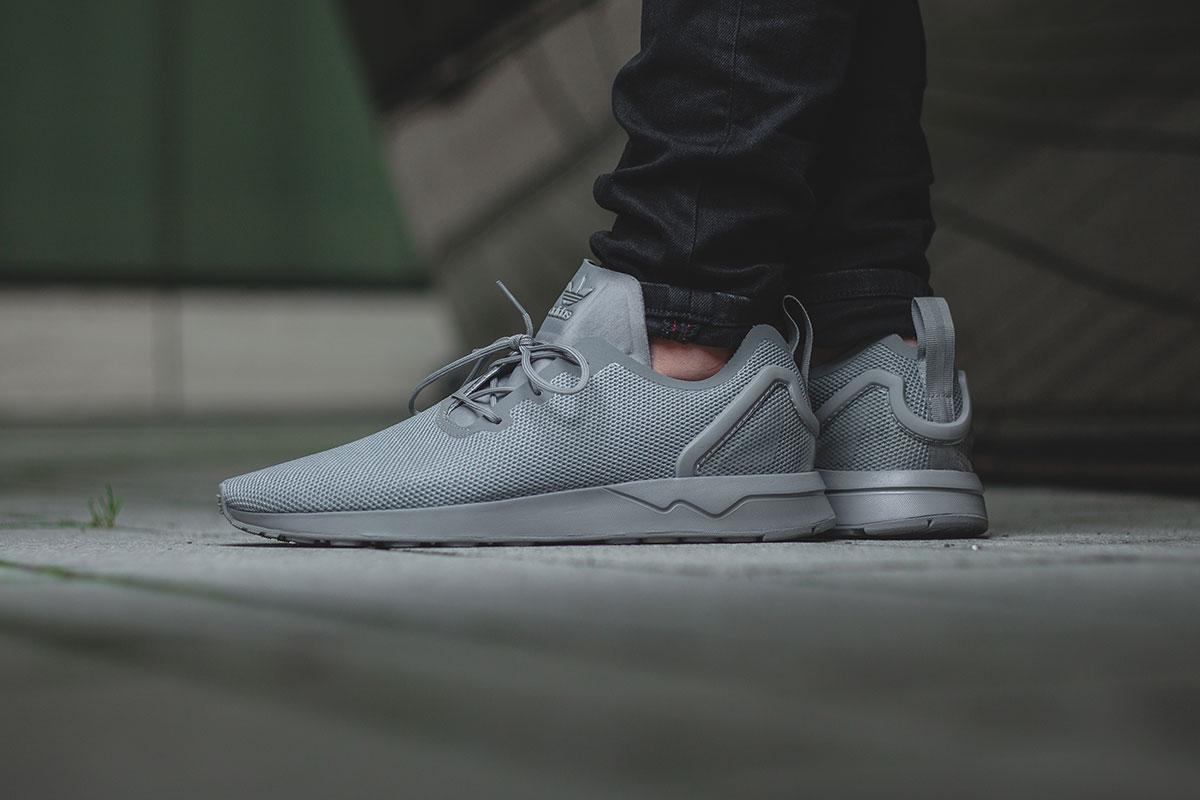 Adidas ZX Flux Adv Asym Solid Grey | AFEW NEWSBLOG