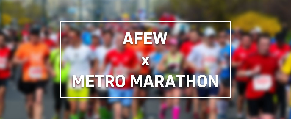 Afew x Metro Marathon 2016