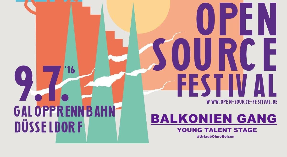 Balkonien Gang @Open Source Festival