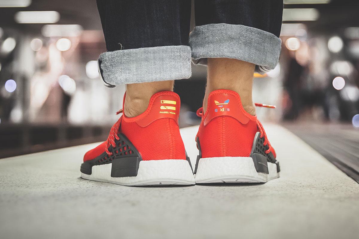 Adidas x Pharell Williams HU NMD