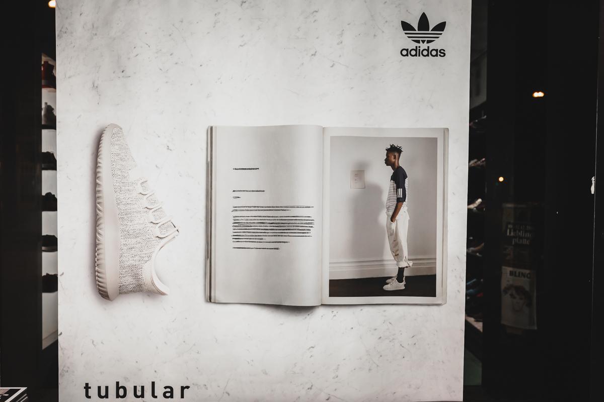 adidas Tubular Shadow mit Kool Savas