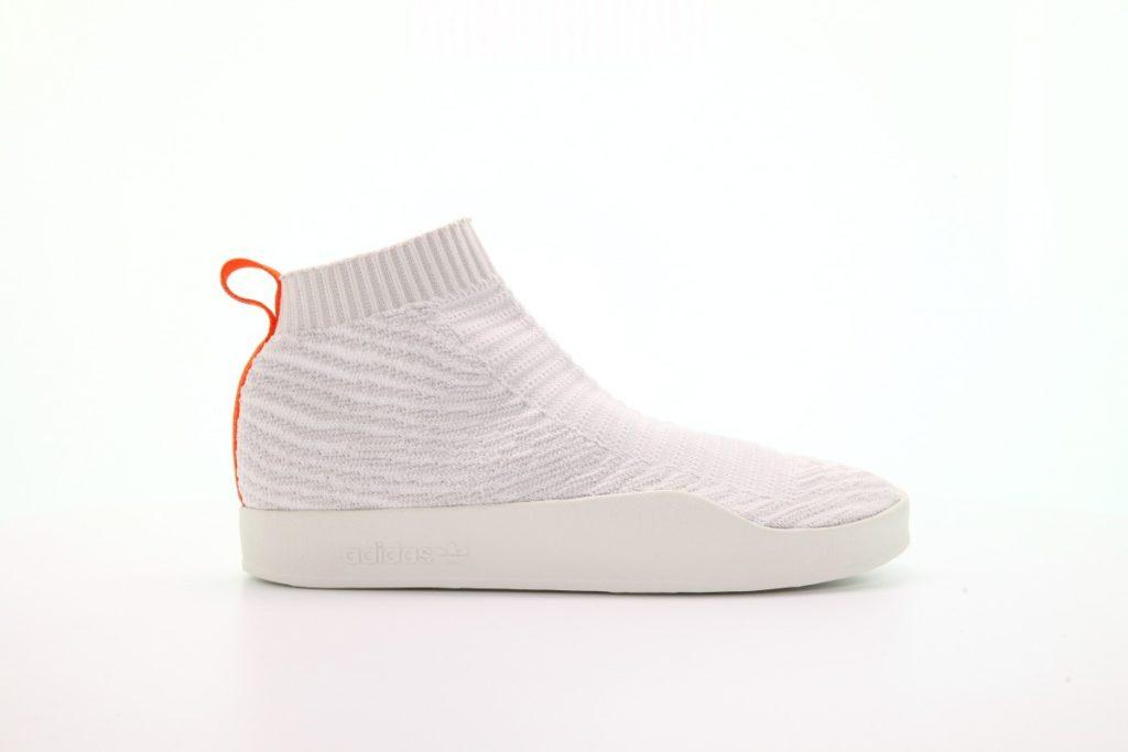 afew-store sneaker adidas adilette pk sock su white tint-s18-crystalwhite-greyone-f17