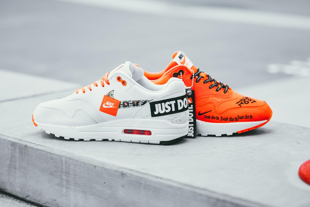 Nike Air Max 1 Just Do It Pack Orange Womens | 917691 800