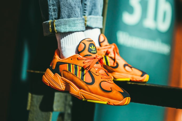 afew-store adidas yung-1 hi res orange B37613