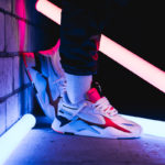Puma RS-X Reinvention 369579-01 Photoshooting neon lights