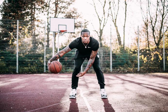 Air Jordan 11 Retro 2018 on feet mit RaShad James von den Telekom Baskets Bonn