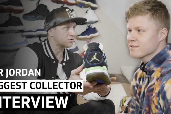 Interview mit dem größten Air Jordan Retro Sammler Europas
