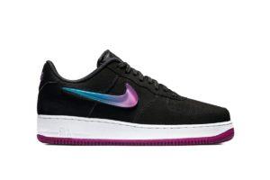 """Nike AIR FORCE 1 '07 PRM 2 """"BLACK"""" AT4143-001"""
