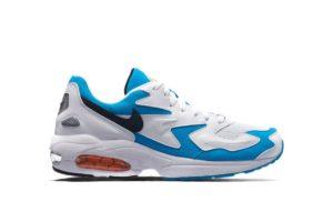 """Nike AIR MAX 2 LIGHT """"BLUE LAGOON"""" AO1741-100"""