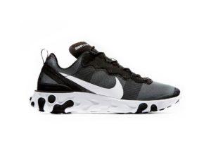 "BQ6166-003 Nike React Element 55 ""Black and White"""