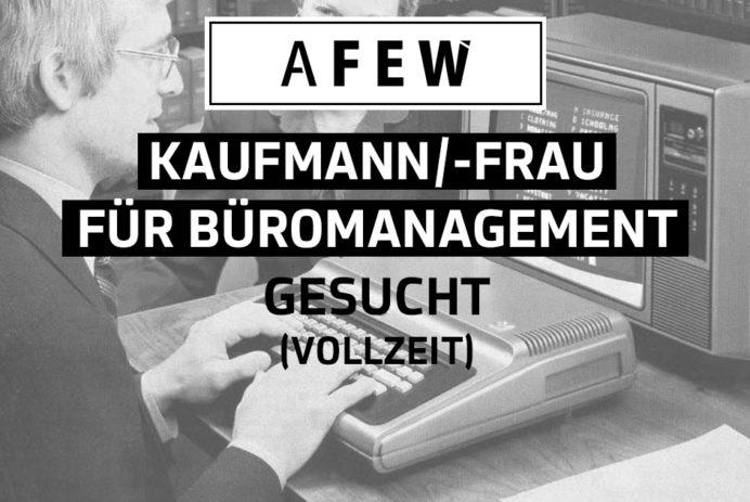 Büromanagement Stellenausschreibung