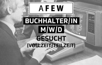 AFEW SUCHT BUCHHALTER (M/W/D)