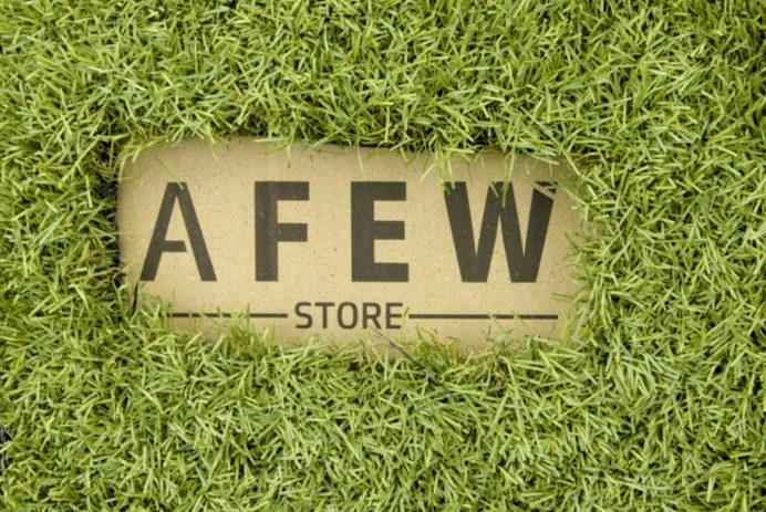AFEW STORE Gras Box - Versandkarton aus Graspapier